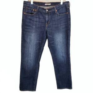 Levi's  Cropped Midrise Boyfriend Jeans